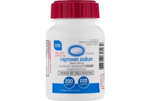 Smart Sense Naproxen Sodium Caplets - 200 CT
