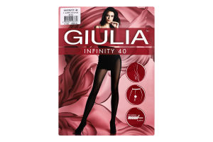 Колготки жіночі Giulia Infinity 40den 3-M cappuccino