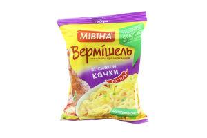Вермішель швидкого приготування зі смаком Гострої Качки Мівіна 59,2г