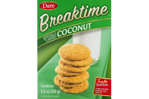 Dare Breaktime Coconut Cookies