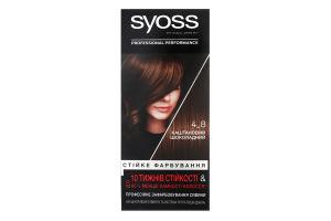 Крем-фарба для волосся Стійке фарбування Professinal performance №4-8 Syoss 1шт