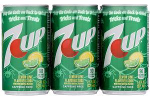 7-Up Lemon Lime Soda - 6 PK