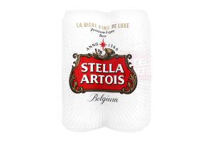 Пиво 0.5л 4.8% светлое Stella Artois ж/б