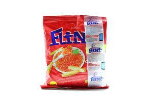 Сухарики со вкусом красной икры Flint м/у 130г