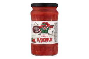 Аджика томатна лагідна Рецепти Тітоньки Адж с/б 340г