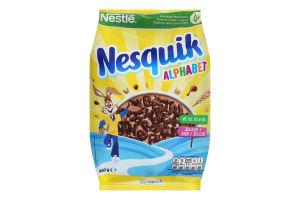 Сніданок сухий готовий з вітамінами та мінеральними речовинами Alphabet Nesquik м/у 460г