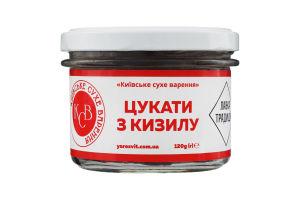 Цукати з кізилу Київське сухе варення с/б 120г