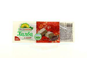 Халва E.C.O. halva з какао 250г х40