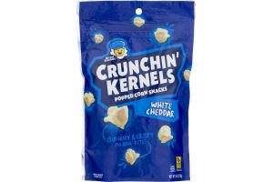 Kernel Season's Crunchin' Kernels Popped Corn Snacks White Cheddar