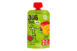 Пюре для детей от 6мес Манго Baby Bob Snail д/п 90г