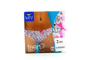 Труси Key teen дів-підлітк. 2шт TPR 053 A5 152-158