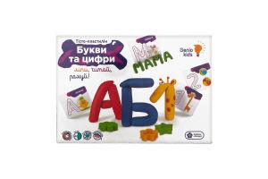Набор для лепки для детей от 3лет №ТА1083_UA Буквы и цифры Genio Kids 1шт