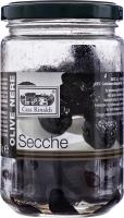 Оливки черные сушеные с косточкой без масла Casa Rinaldi с/б 170г