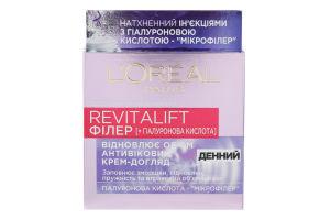 Крем-уход для лица антивозрастной дневной 40+ Revitalift Филлер+гиалуроновая кислота L'Oreal Paris 50мл