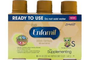 Enfamil Infant Formula for Supplementing Bottles - 6 CT