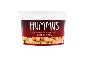 Хумус з нуту з в'яленими томатами та базиліком Yofi! ст 250г