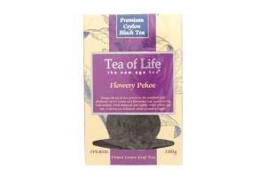 Чай черный Tea of Life FPekoe байховый