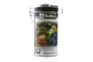 Чай черный листовой с бергамотом Earl Grey Qualitea ж/б 200г