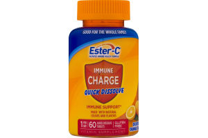 Ester-C Immune Charge Immune Support Quick Dissolve Tablets - 60 CT