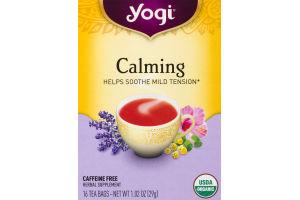 Yogi Calming Tea Bags - 16 CT