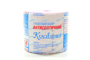 Бумага туалетная антисептическая Кохавинка