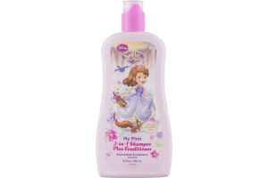 Disney Sofia the First 2-in-1 Shampoo Plus Conditioner Strawberry Scented