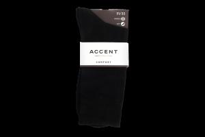 Шкарпетки чоловічі Accent №002233483133 44-45 чорний