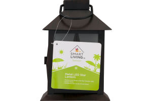 Smart Living Summer Metal LED Star Lantern