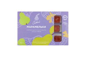 Мармелад ручной работы Груша-имбирь Марамельки Ситно к/у 60г