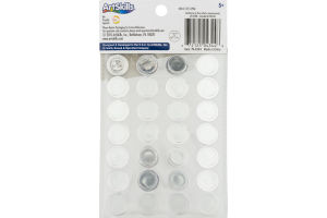 ArtSkills Self-Stick Gems Jumbo - 28 PC
