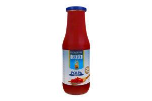 М'якоть томатна пастеризована De Cecco с/пл 690г