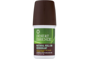 Desert Essence Natural Roll-On Deodorant Lavender & Aloe
