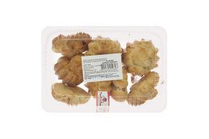 Пирожные заварные Ириска Tortissimo п/у 0.3кг