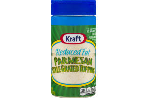Kraft Parmesan Style Grated Topping Reduced Fat