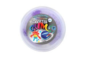 Кулькова маса для дітей від 3-х років перламутр №072438 Monster Gum п/у 125мл