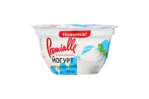 Йогурт 8% натуральный Premialle ст 140г