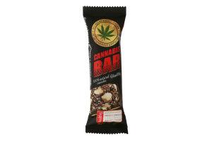 """Батончик - мюслі ТМ """"Cannabis Bar"""" з фундуком + насіння канабісу"""