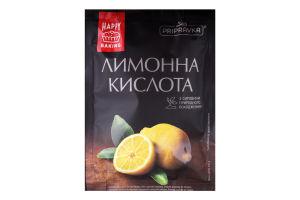 Кислота лимонна харчова Pripravka м/у 100г
