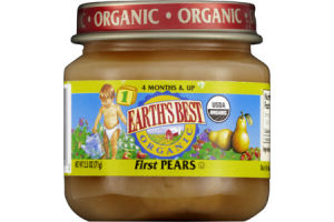 Earth's Best Stage 1 First Pears