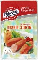"""Сардельки 1/с """"Пікантні з сиром"""" (порц.упак.)(0,45кг)"""
