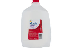 Acadia Pure Steam Distilled Water