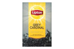 Чай черный байховый листовой с ароматом бергамота Grey Cardinal Lipton к/у 80г