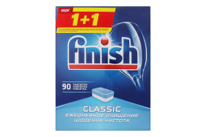 Таблетки для посудомоечной машины Classic Powerball Finish 2х90шт