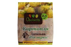 Картопля Овочиста для варки 2,5кг Україна
