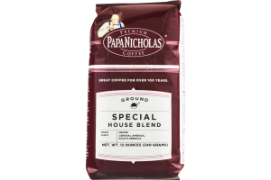 Papa Nicholas Coffee Ground Special House Blend Light