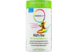 Rainbow Light Kid's One Food-Based Multivitamin Dietary Supplement Tablets - 90 CT