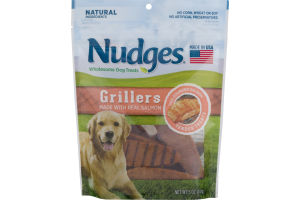 Nudges Dog Treats Grillers Salmon