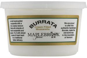 Maplebrook Farm Burrata Cream Filled Mozzarella