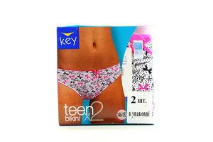 Труси Key teen дів-підлітк. 2шт TPR 053 A5 146-152