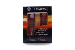 Compass набір (крем д/гоління+бальзам після гоління)